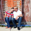 Natalie &amp; Chris Engagement Session : 
