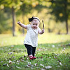 Brooklyn's 1st Birthday Session : 